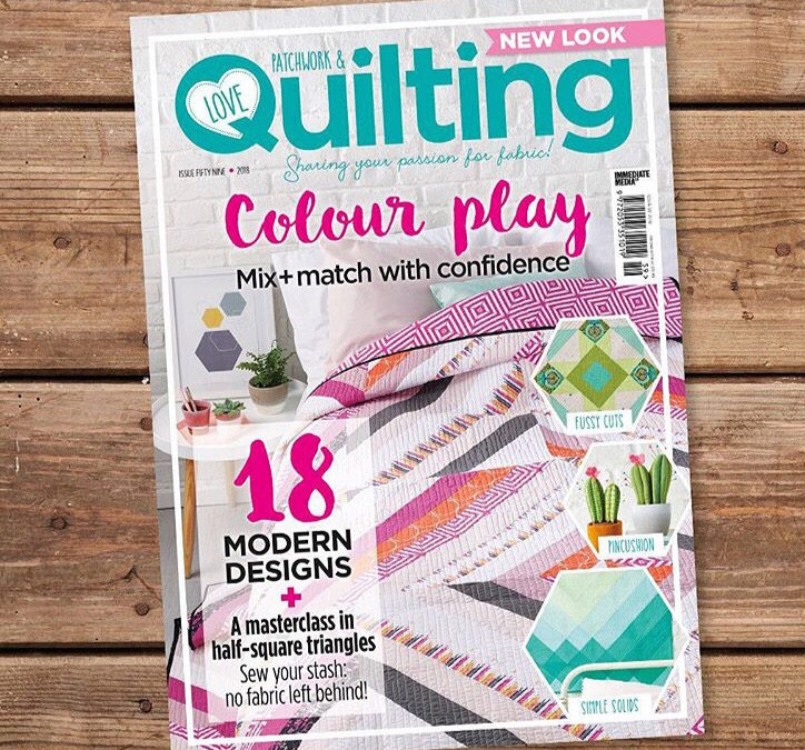 Love Patchwork & Quilting – Issue no. 59