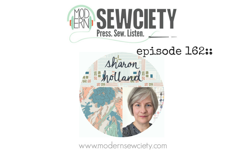 MS episode 162:: Sharon Holland – Fabric Designer, Artist, and Author of Utility Style