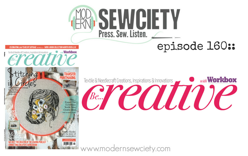 MS episode 160: Be Creative with Workbox magazine's editor Mary Bennellick