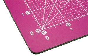Close up of Havel's new 2-sided, self-healing cutting mat - Modern Sewciety sponsor