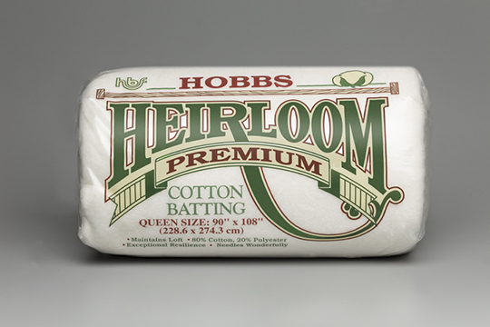 Hobbs Batting Heirloom Premium Cotton Blend - The Modern Sewciety sponsor