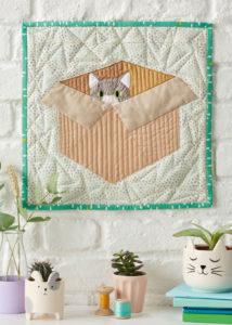 LQP 60 Peek quilt - The Modern Sewciety