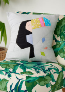 LQP 60 Toucan quilt - The Modern Sewciety