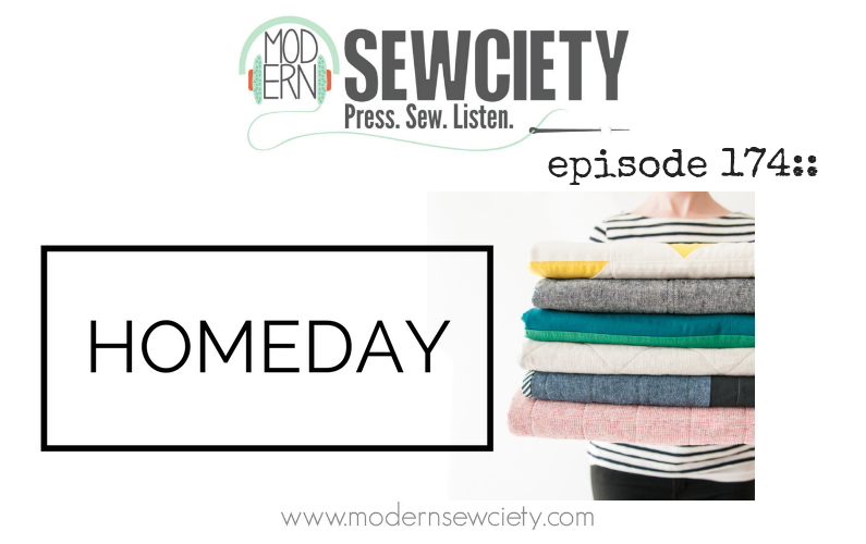 MS episode 174: Lesley Hill of Homeday Studio. Modern Handmade Home Goods.