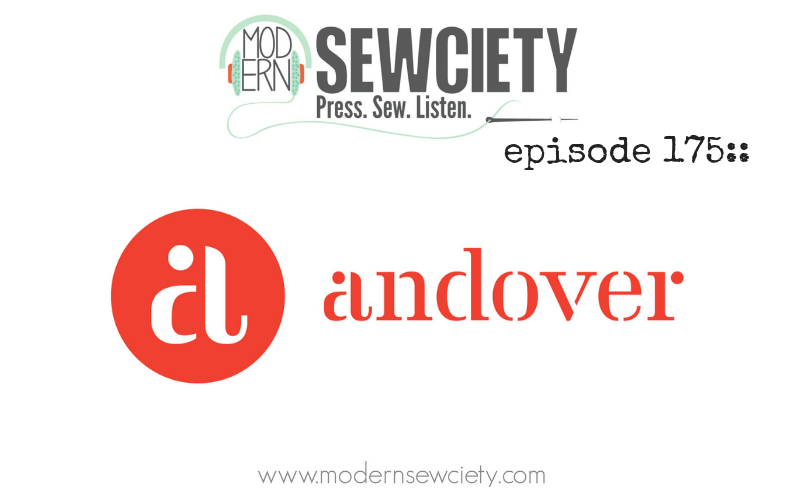 MS episode 175: Daryl Cohen (fabrichick) and Giuseppe Ribaudo (Giucy Giuce) from Andover fabrics