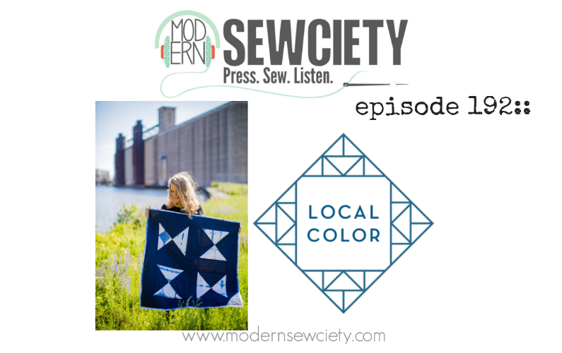 MS episode 192: Whitney Crispell from Local Color Quilts
