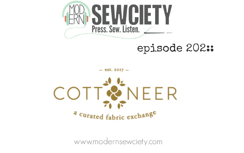 MS episode 202: Andrea Patton from Cottoneer Fabrics