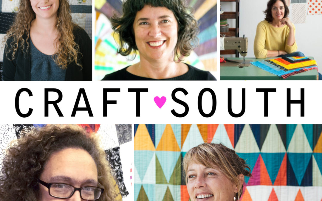 MS episode 204: LIVE Modcast from CraftSouth, Part 1 featuring Heidi Parkes and Tara Faughnan